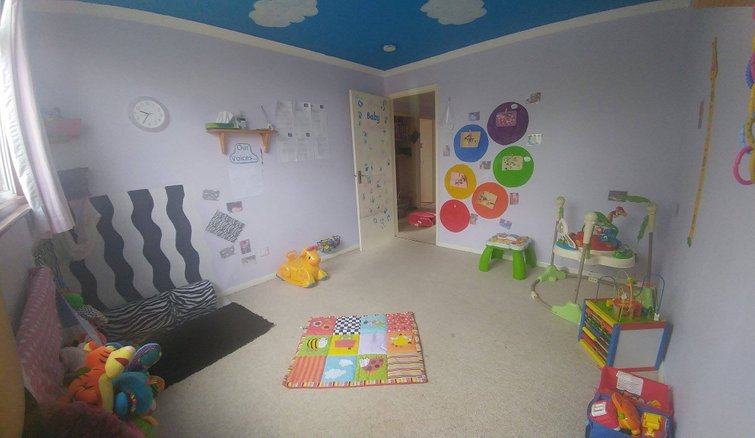 the baby room is a small but cosy room providing a home from home environment which offers homely affection and stimulation that your child needs for - The Baby Room